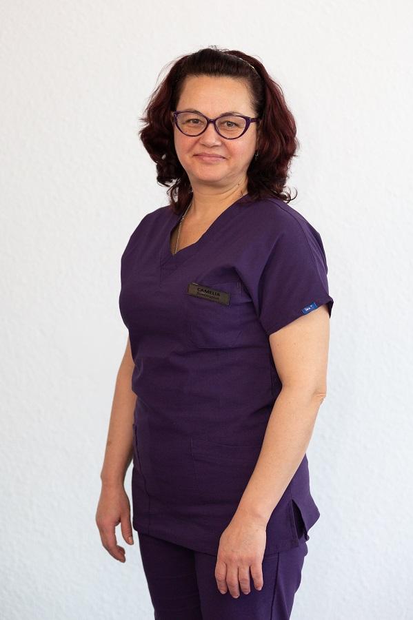 Camelia Câșleanu - asistent medical balneo fizio kinetoterapeut
